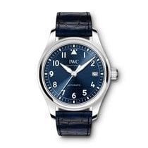 IWC Pilot's Watch Automatic 36 Steel 36mm Blue Arabic numerals