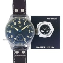 IWC Big Pilot new 2020 Manual winding Watch with original box and original papers IW510301