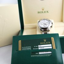 Rolex Daytona, 116520, chiusura lunga, White dial.