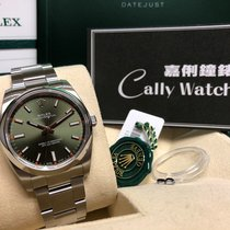Rolex Cally - 114200 Oyster Perpetual  Olive  Green 綠色  [NEW]