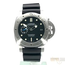 Panerai Steel Automatic Black Arabic numerals 42mm new Luminor Submersible 1950 3 Days Automatic
