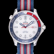 Omega Seamaster Diver 300 M Steel 41mm White United States of America, California, San Mateo