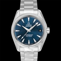 Omega Seamaster Aqua Terra Steel 38.5mm Blue United States of America, California, San Mateo