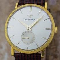 Wittnauer Swiss Made Mens 1960s Manual 14k Gold Men's Luxury...