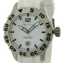 Nautica BFD 100 White Mens Watch