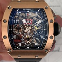 Richard Mille Chronograph Automatic 2011 pre-owned RM 011 Transparent