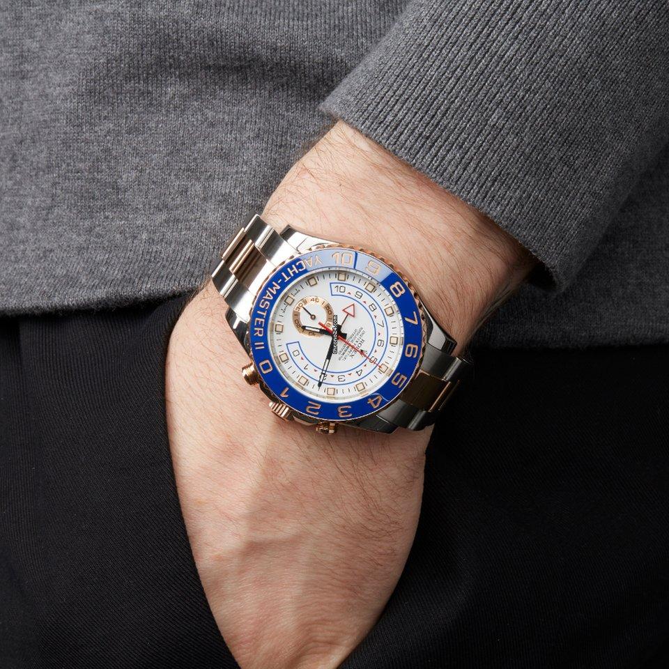 fe6a84631ec Rolex Yacht-Master II - Todos os preços de relógios Rolex Yacht-Master II  na Chrono24