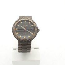 Longines Tantalum Quartz Grey Arabic numerals 37mm pre-owned