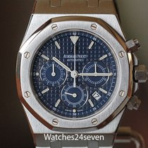 Audemars Piguet Royal Oak Chronograph Acero Azul