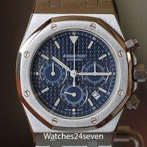 Audemars Piguet Royal Oak Chronograph Staal Blauw