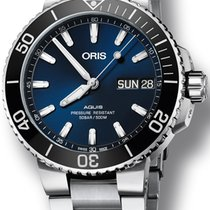 Oris Hammerhead Limited Edition Steel 45.5mm Blue No numerals United States of America, New York, New York