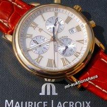 Maurice Lacroix Les Classiques Chronographe Gold/Stahl 40mm Champagnerfarben Römisch Deutschland, Meißen