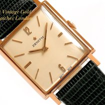 Zenith Or rose 26mm Remontage manuel occasion