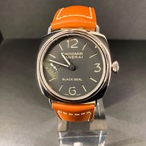 Panerai Radiomir Black Seal Acier 45MMmm Noir Arabes France, Paris
