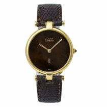 Cartier 21 Must de Cartier Yellow gold 30mm Brown United States of America, New York, New York