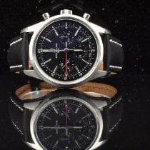 Breitling Transocean Chronograph GMT Steel 43mm Black