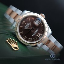 Rolex Lady-Datejust Gold/Steel 31mm Brown Roman numerals South Africa, Johannesburg