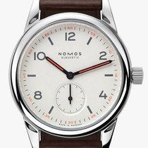 NOMOS Club Automat Steel 36mm White Arabic numerals