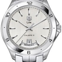 TAG Heuer Link Calibre 5 Steel 45.9mm Silver United States of America, New York, Brooklyn