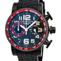 Graham Silverstone Stowe 44 Chronograph Automatic Men's Watch...