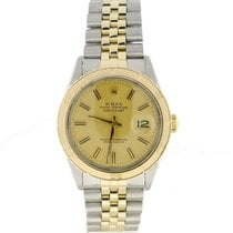 Rolex Datejust Thunderbird Turn-o-graph 2-Tone Champagne Stick...