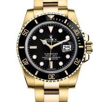 Gold Rolex Submariner Green Face