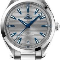 Omega Seamaster Aqua Terra Steel 41mm Grey Arabic numerals