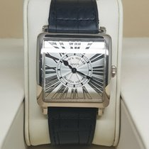 Franck Muller Master Square White gold Silver Roman numerals United Kingdom, West Sussex