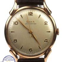 Doxa Vintage Doxa Anti-Magnetique 35mm Silver Toned 14K Rose...