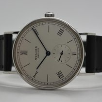 NOMOS Ludwig pre-owned 35mm White Leather