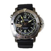 Panerai Luminor Submersible 1950 Depth Gauge tweedehands 47mm Titanium