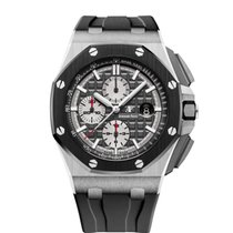 Audemars Piguet Royal Oak Offshore Chronograph Титан 44mm Чёрный