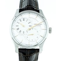 Hamilton Jazzmaster Regulator Staal 42mm Zilver