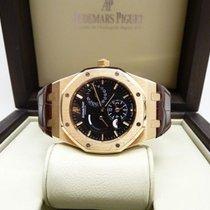 Audemars Piguet Royal Oak Dual Time Rose gold 39mm Black