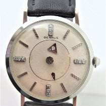 Benrus White gold Manual winding 32mm pre-owned
