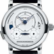 Montblanc Nicolas Rieussec 111012 Ny Stål 43mm Automatisk
