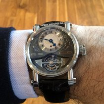 Speake-Marin Platina 38mm Corda manual usado