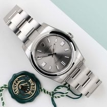 Rolex Oyster Perpetual 36 Ατσάλι 36mm Ασημί