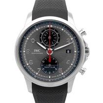 IWC Portugieser Yacht Club Chronograph neu Automatik Chronograph Uhr mit Original-Box und Original-Papieren IW390503
