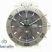 Oris Aquis Titan Chronograph Titanium 46mm