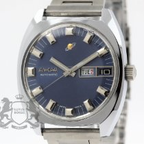 Enicar Steel 35.5mm Automatic pre-owned