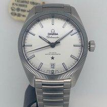 Omega Globemaster Steel 39mm Silver No numerals