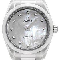 Omega Seamaster Aqua Terra Steel 28mm Mother of pearl