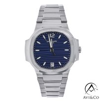 Patek Philippe Nautilus Steel 35.2mm Blue No numerals United States of America, New York, New York