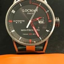 Locman Steel 44mm Automatic 051100BKFRD0GOK pre-owned