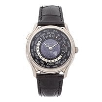 Patek Philippe World Time White gold 39.8mm Black No numerals United States of America, Pennsylvania, Bala Cynwyd