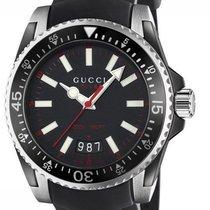 Gucci Stal 40mm Kwarcowy YA136303 nowość