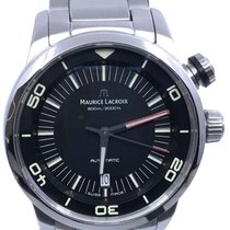 Maurice Lacroix Pontos S Diver Steel 43mm Black No numerals United States of America, Florida, Naples