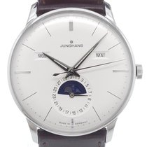 Junghans Meister Calendar Steel 40,0mm Silver No numerals