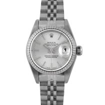 Rolex Datejust Ladies in Steel with Silver Dial 69174, Papers